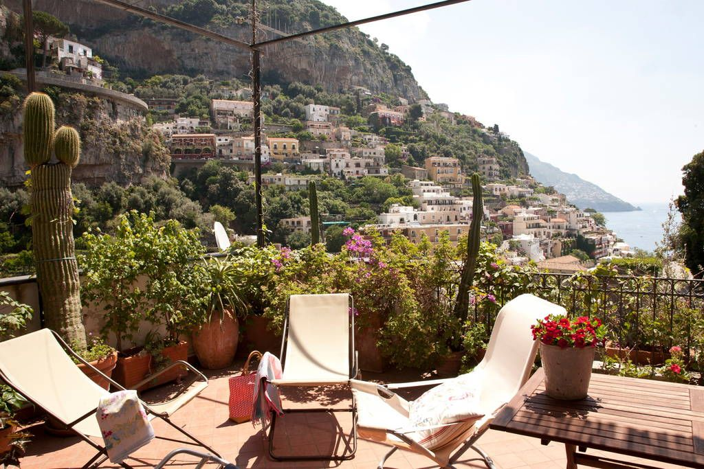 CENTER Panoramic HUGE TERRACE WIFI Positano