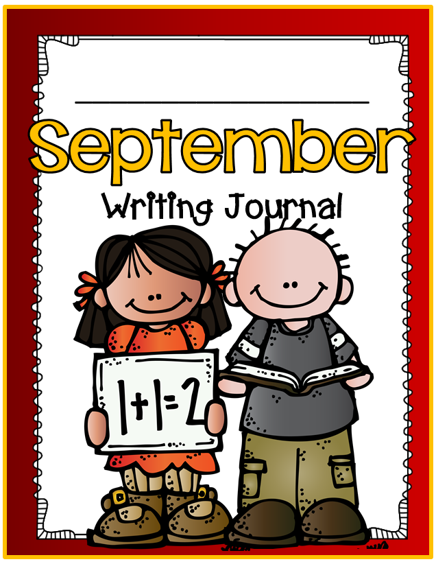 FREE writing journal for the month of September.