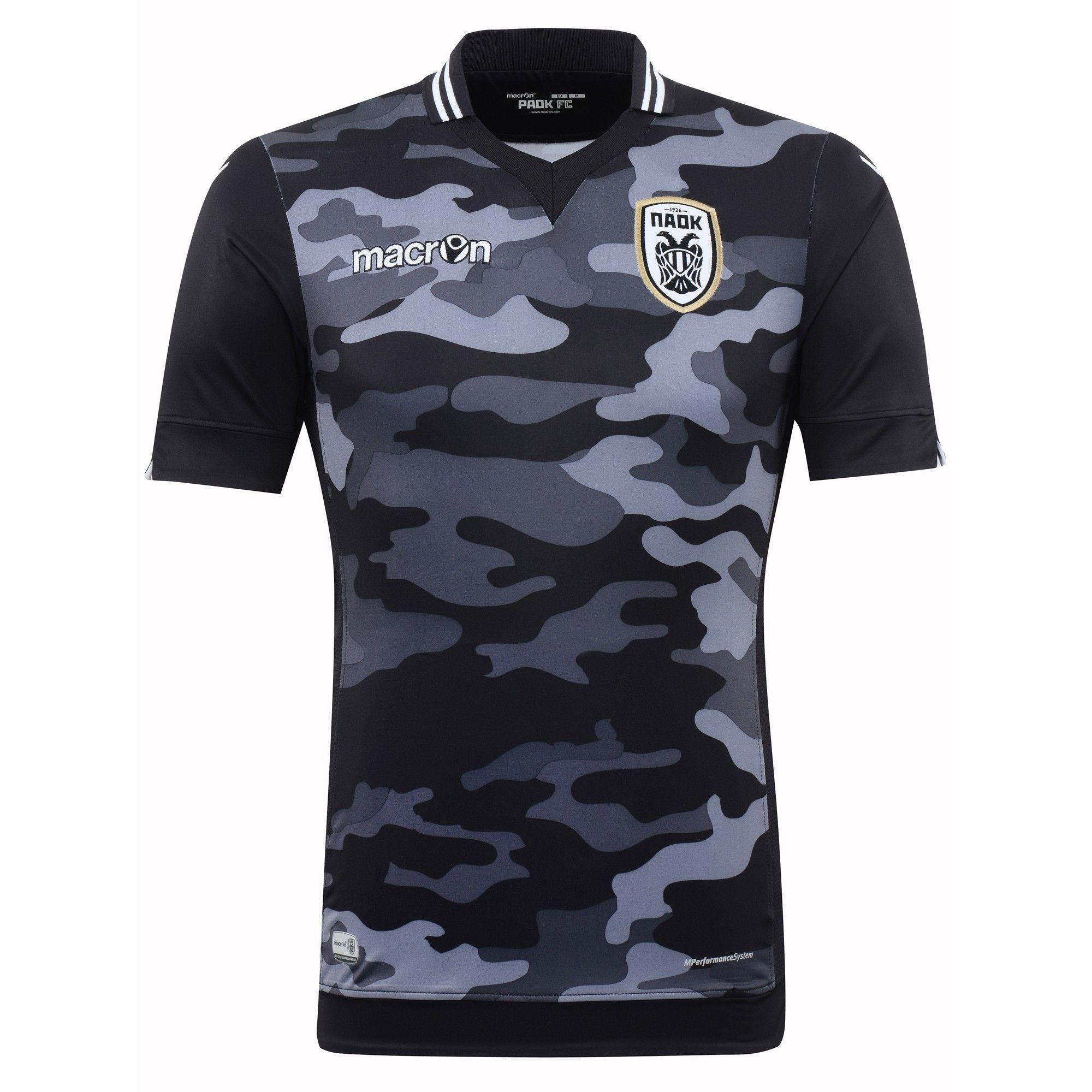 f7097a0b022ac PAOK FC (Greece) - 2015 2016 Macron Third Shirt