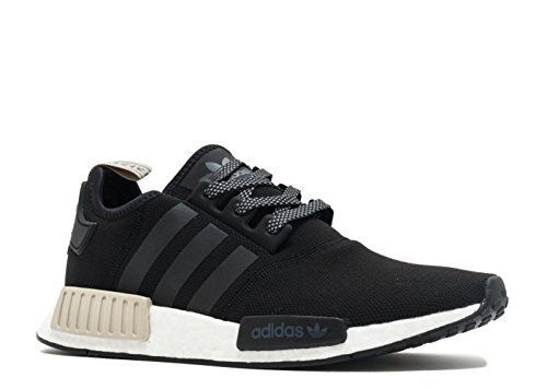 premium selection 0e72e 5d87a adidas-AdidasMens-Originals-NMDR1-Shoes-All-BlackWhite sneakers fitnesssneakerheadsadidas