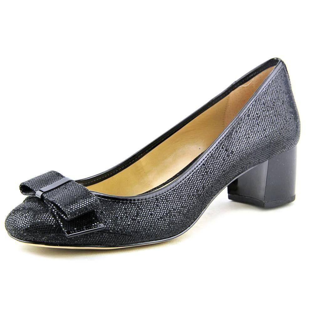 Zapatos De Tacon Kiera Mid Pump Negros Michael Kors cPHRJK
