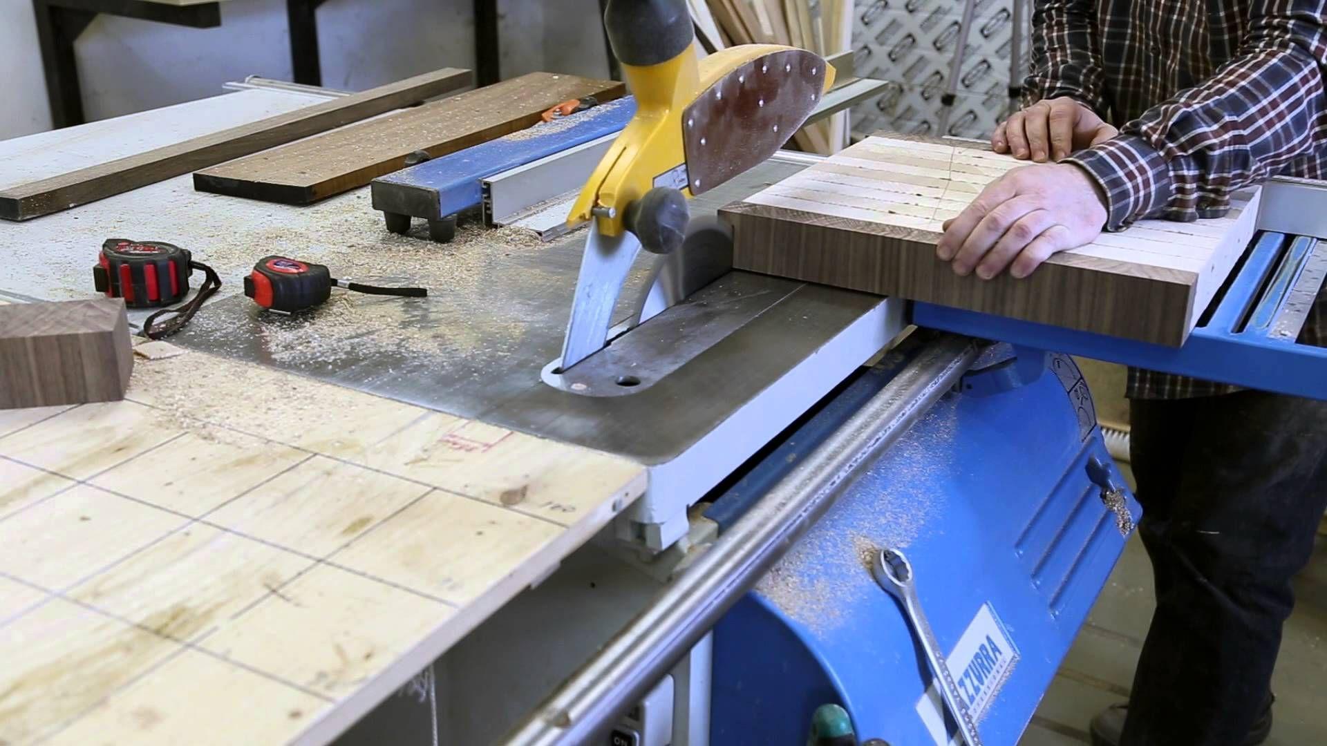 Изготовление торцевых разделочных досок для конкурса Kitchen Knife Forums