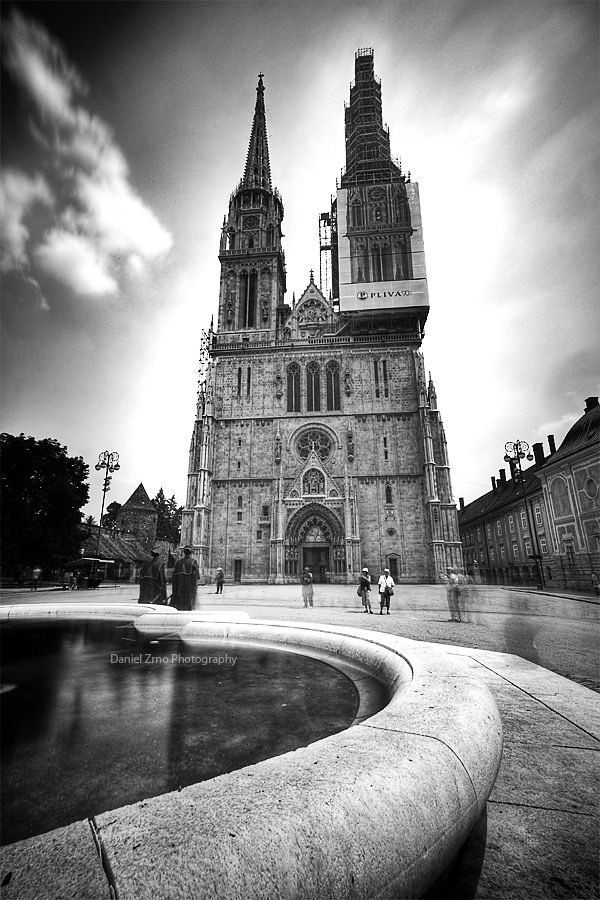 Zagreb Cathedral By Danielzrno Zagreb Beautiful Places On Earth Zagreb Croatia