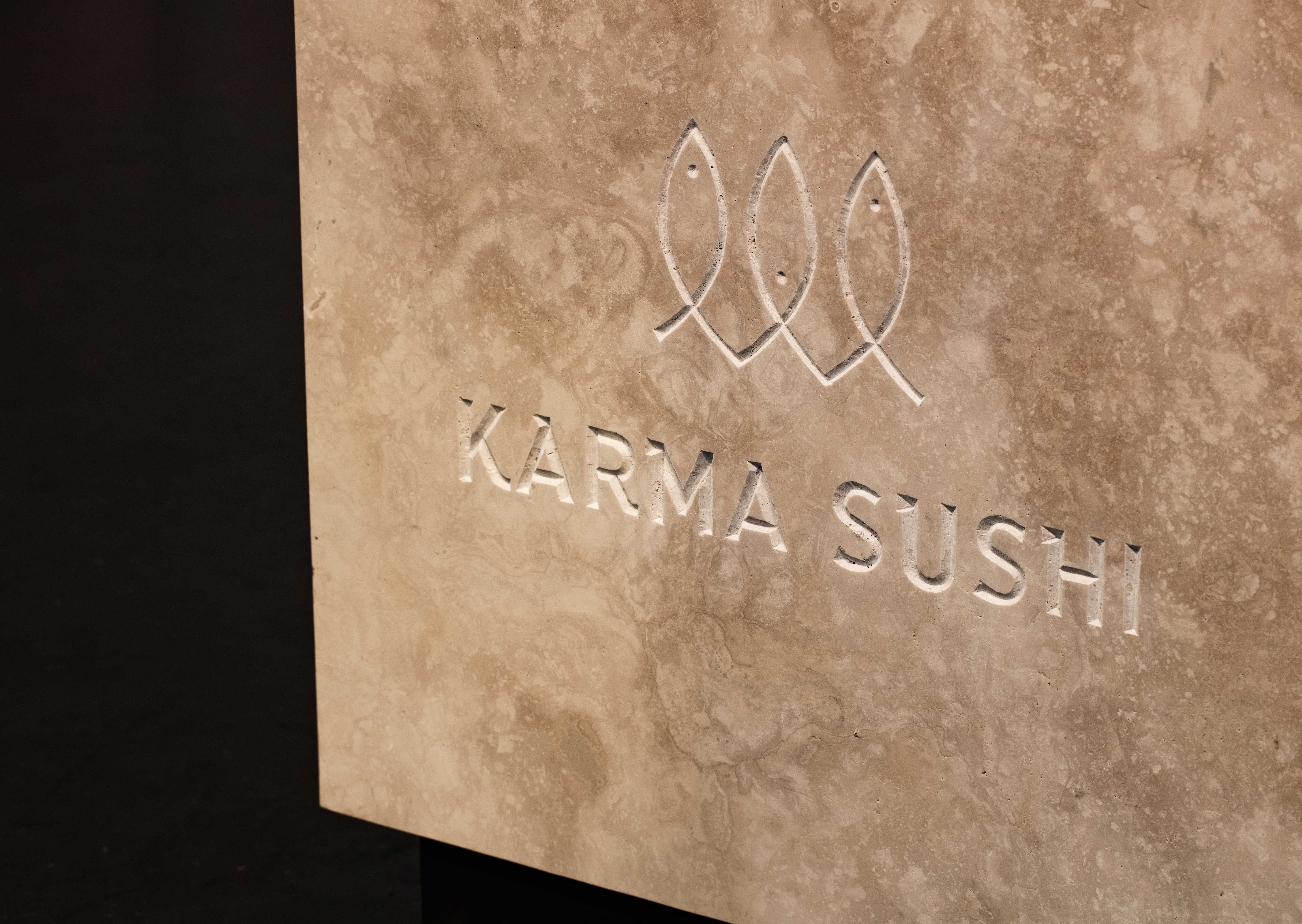 For The New Karma Sushi Restaurant In Aarhus, The Interior Design Department  Of Henning Larsen Architects Has Created An Interior Design With An  Atmosphere ...