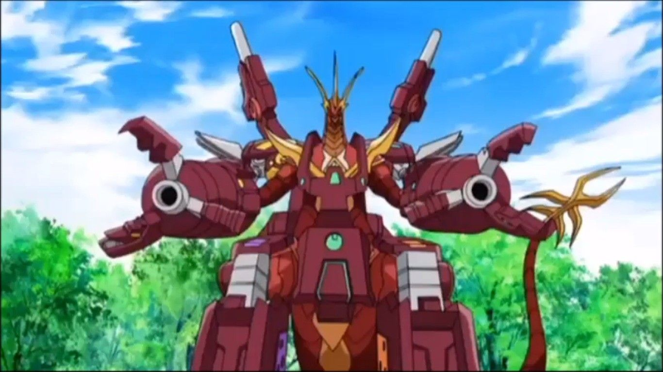 Maxus Cross Dragonoid Bakugan Battle Brawlers Dragon Clash Anime
