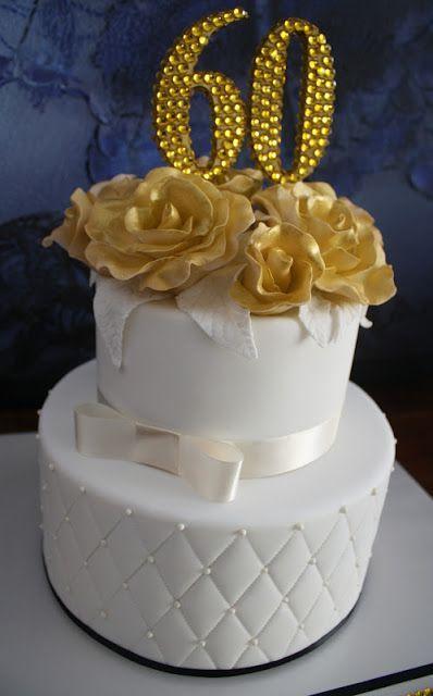 60th Birthday cake 60th birthday Pinterest 60th birthday