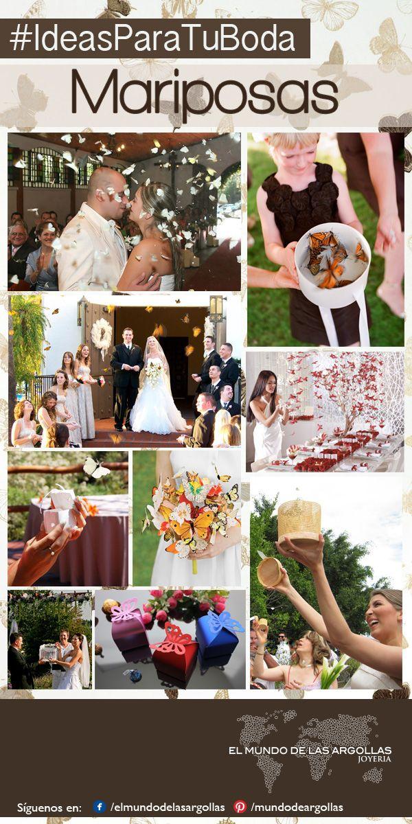 #IdeasParaTuBoda  Liberar mariposas es un momento mágico y emotivo durante la boda, los invitados participan pidiendo buenos deseos para los novios, las mariposas se elevarán al cielo y se los harán llegar a Dios.