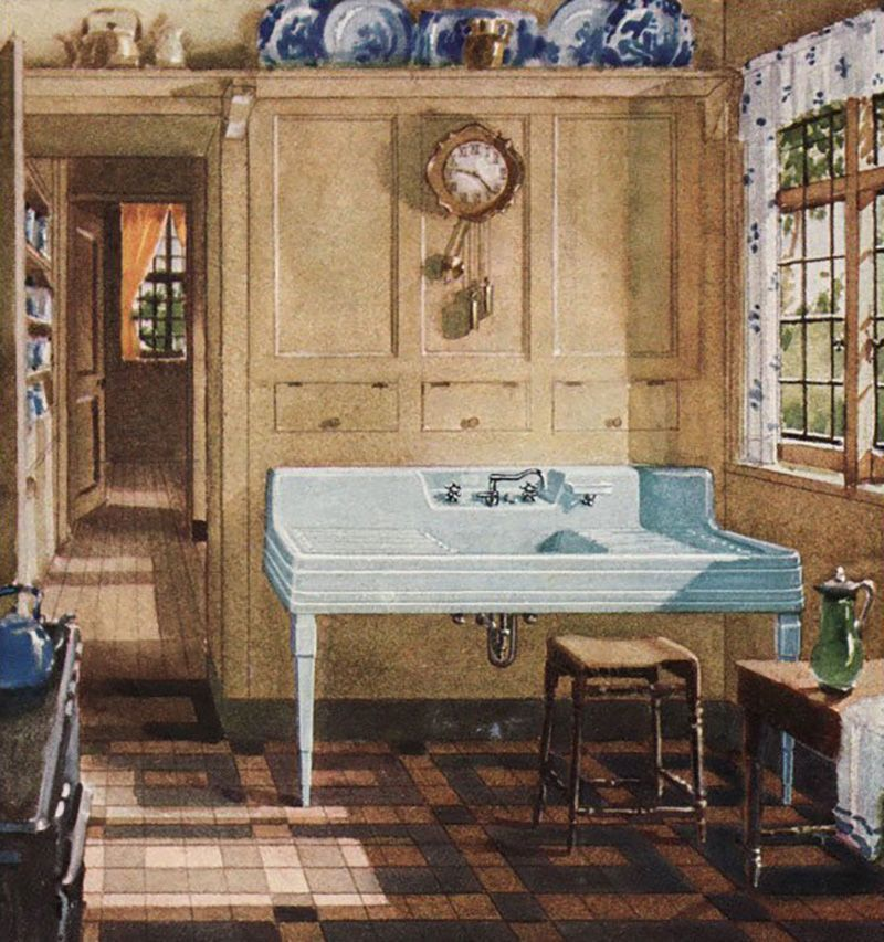 Image Result For This Sink By Crane Plumbing Spotted In A Ad From Antique Home Style Reads Almost As A Piece Of Furniture