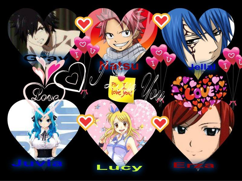 fairy tail coulpe are ...