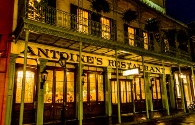 Antoine S Restaurant New Orleans Oldest