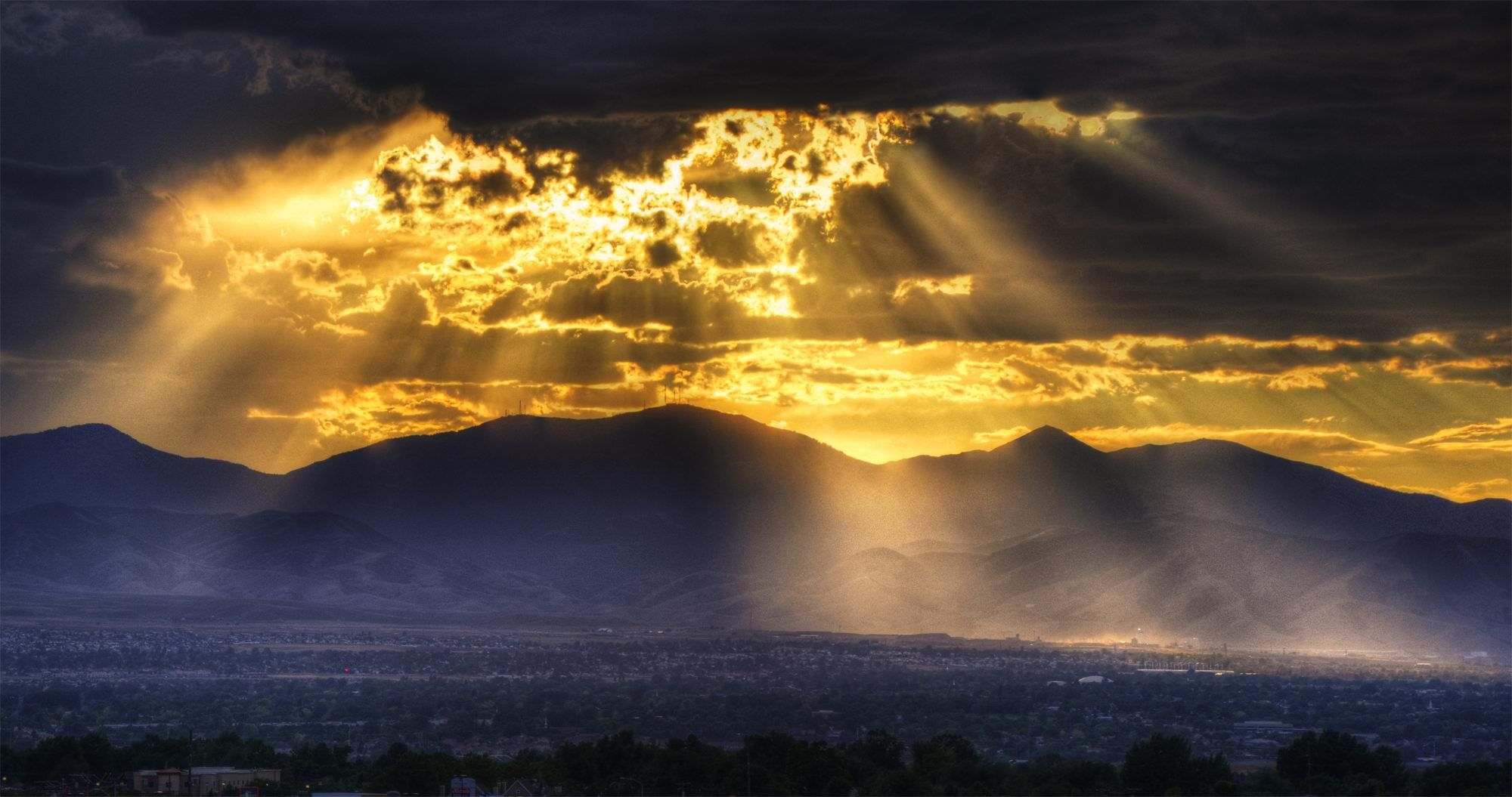 Cool Sunset Mountain Landscape Hd Picture Sunset Landscape Landscape Photography Beautiful Landscape Photography