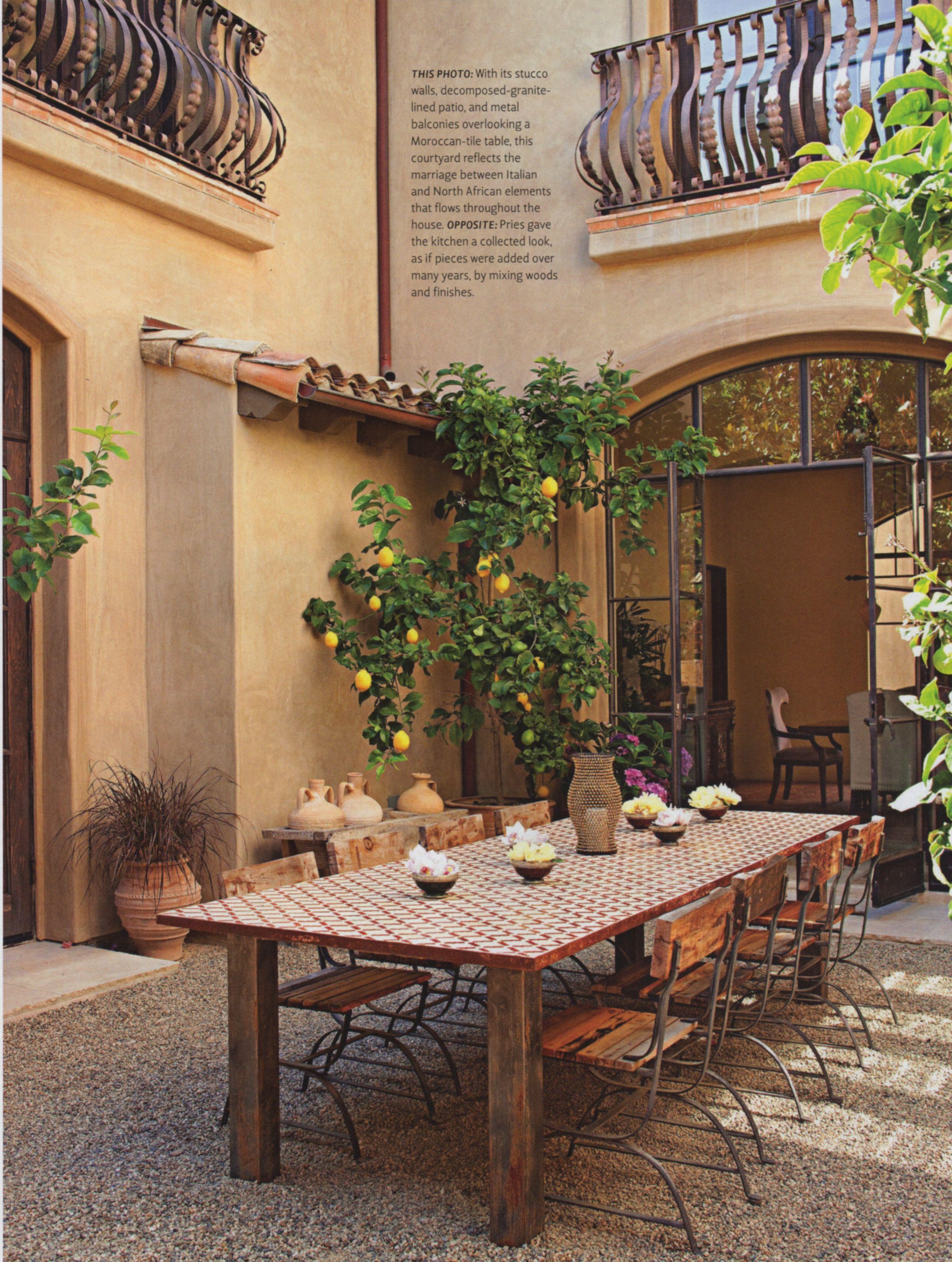 Tuscan Moroccan Lynn Pries Design