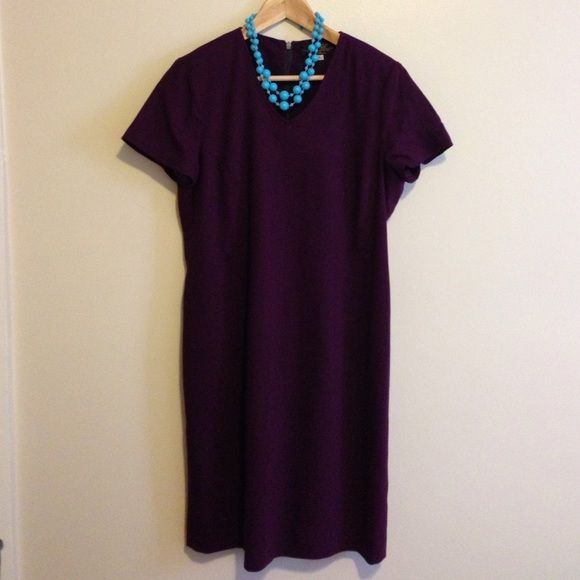 Orchid Purple Sheath Dress - Mary Kay - 10P Great business casual dress for work! Check out the matching blazer. Let me know if you have any questions. Price is negotiable. Mary Kay Dresses
