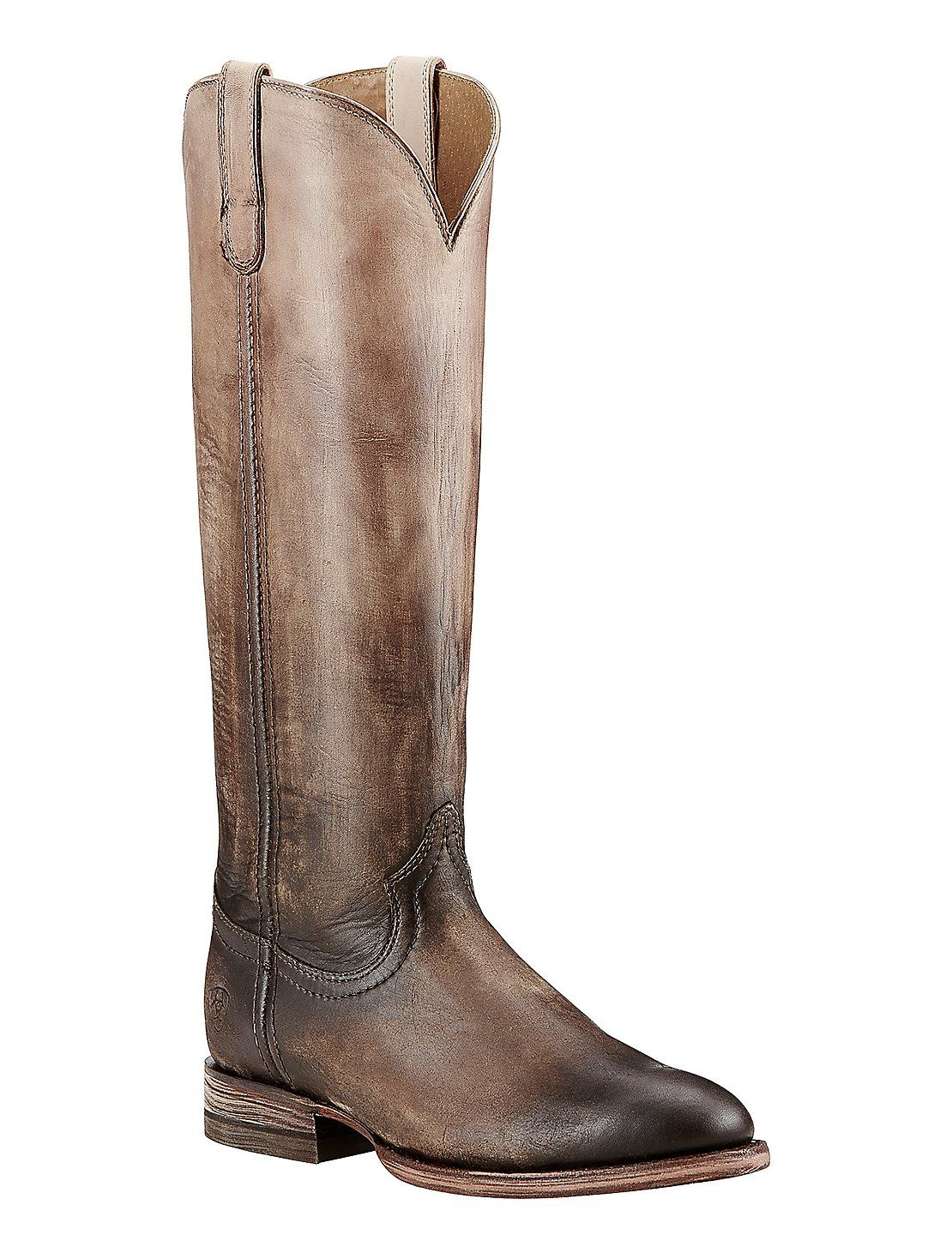 Ariat Women's Cream and Chocolate Ombre Round Toe Fashion