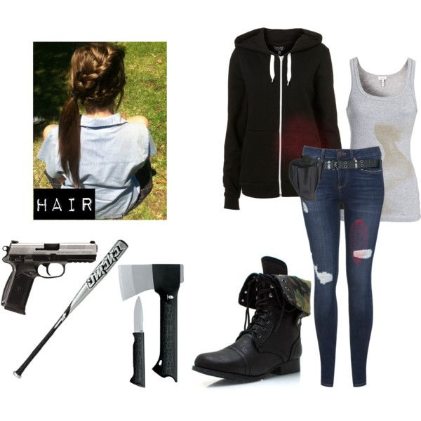 Polyvore Zombie | fashion look from January 2014 featuring Splendid tops and Miss ... | the ...