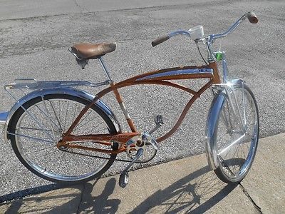 dafa4ed3f04 1963 Schwinn Mark V Jaguar Cruiser Bike | Things I love | Bike ...