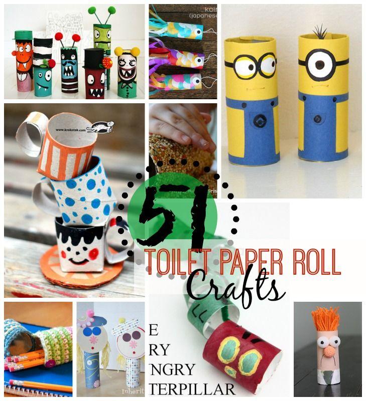 51 toilet paper roll crafts toilet paper roll crafts for Recycle toilet paper rolls crafts
