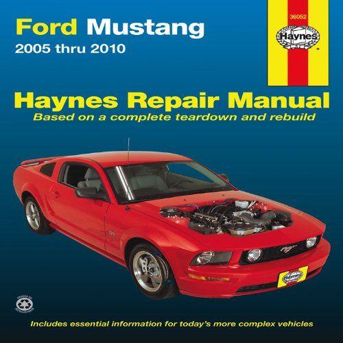 Ford Mustang: 2005 thru 2010 (Haynes Repair Manual) - http://musclecarheaven.net/?product=ford-mustang-2005-thru-2010-haynes-repair-manual
