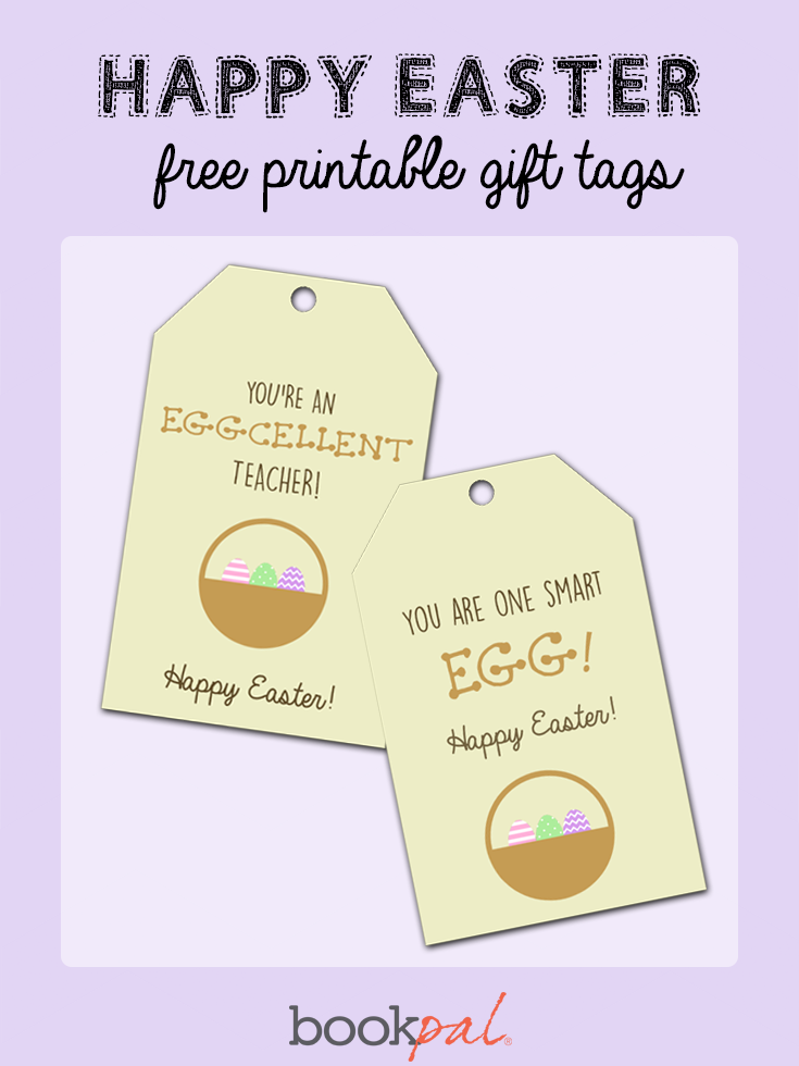 Get your free happy easter gift tags and printables for every get your free happy easter gift tags and printables for every holiday with bookpal negle Images