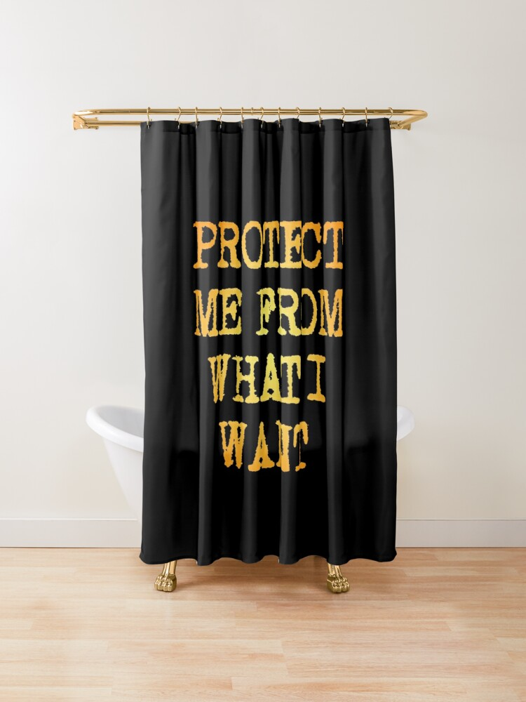Protect Shower Curtain By Just For Fun Lustige Duschvorhange