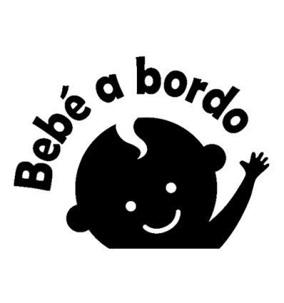 Baby on Board Varios Tama/ños Pegatina Vinilo Bebe a Bordo