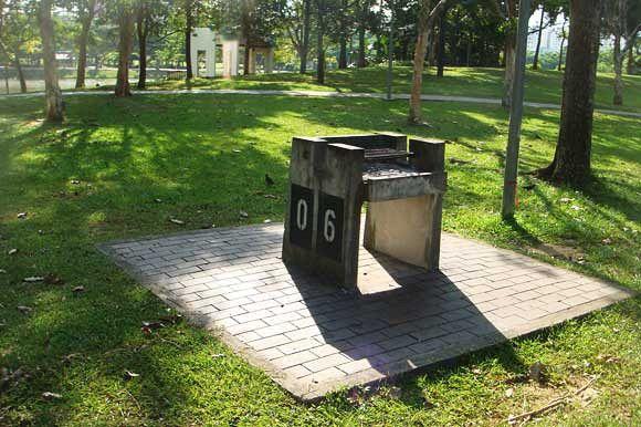 Punggol Park Bbq Pit Booking Singapore Bbq Places Outdoor Ottoman Bbq