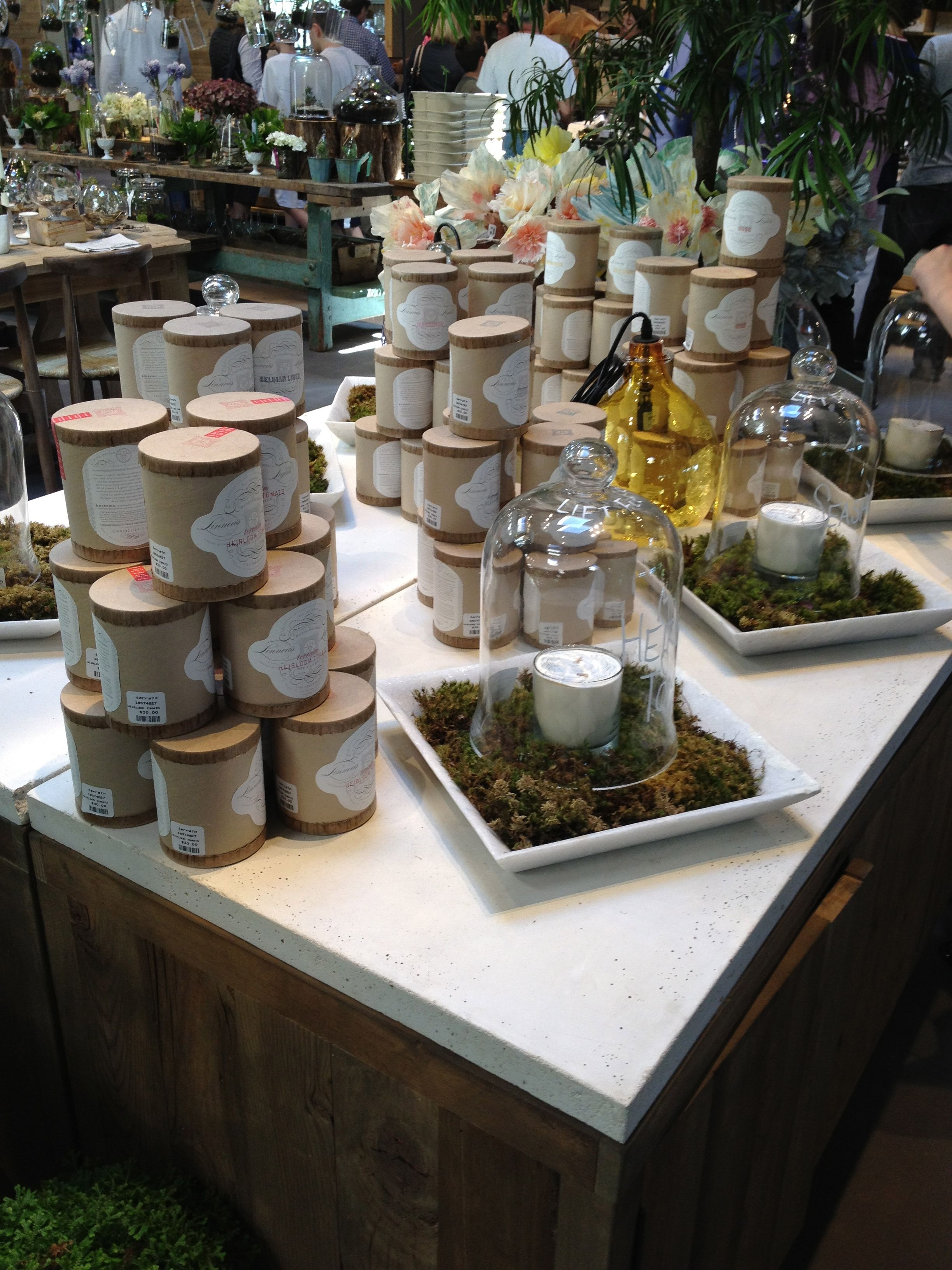 Terrain A Candle Or Two Candle Store Candle Store Display Candle Display Retail