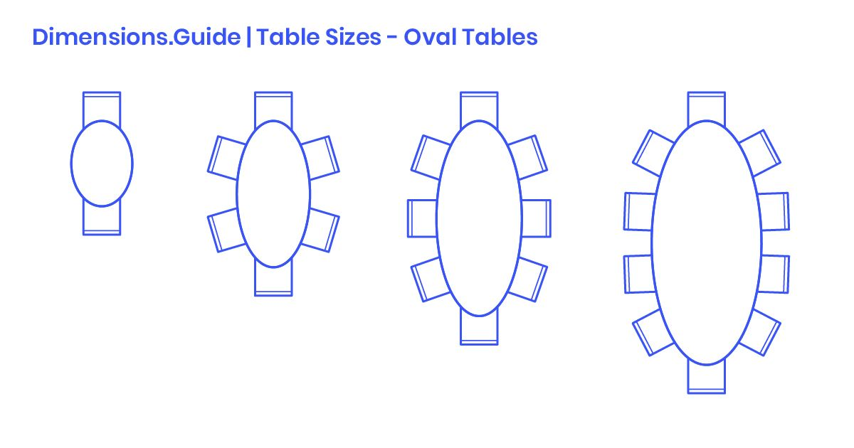 Oval Dining Tables Are Playful Tables That Are Available In A