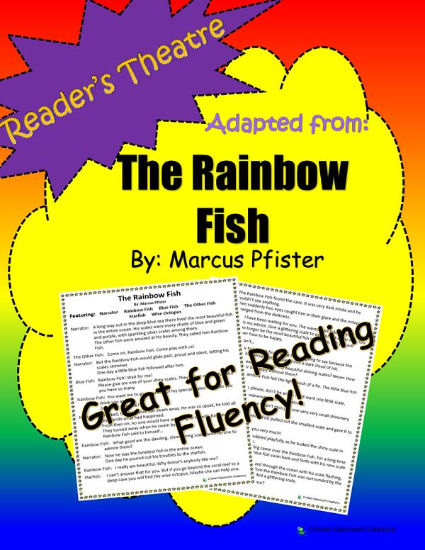 Reader S Theatre Script Features 6 Parts The Narrator Rainbow