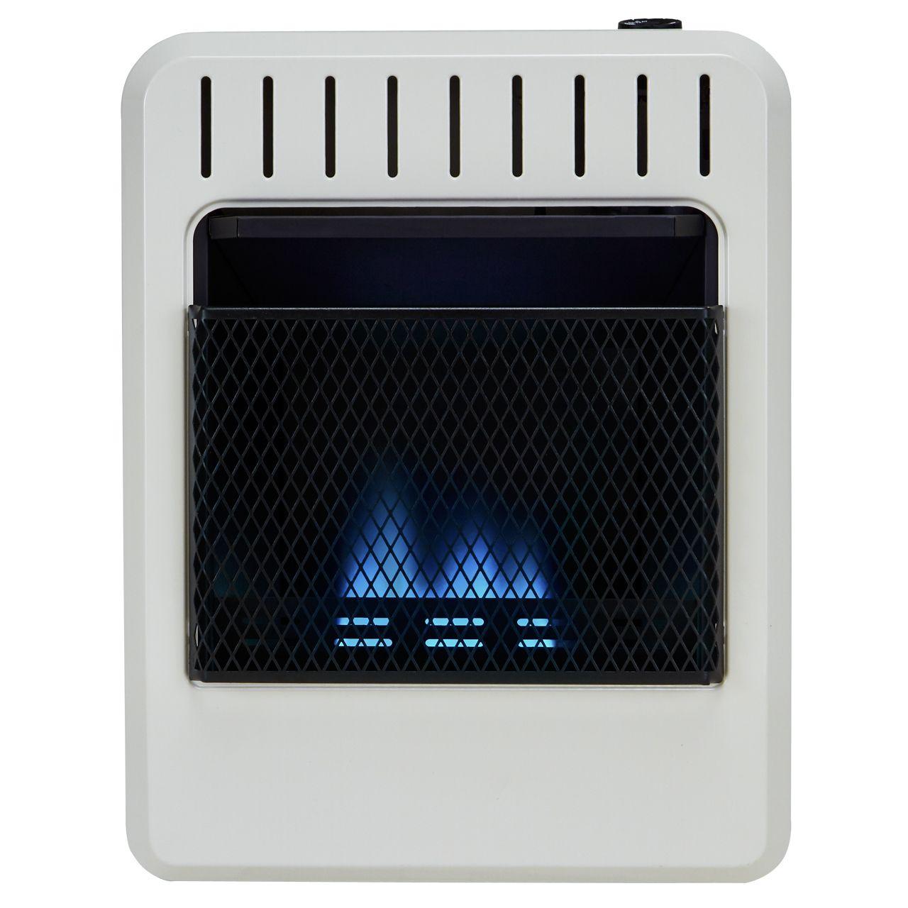 Avenger Fdt10bfa Dual Fuel Ventless Blue Flame Gas Heater
