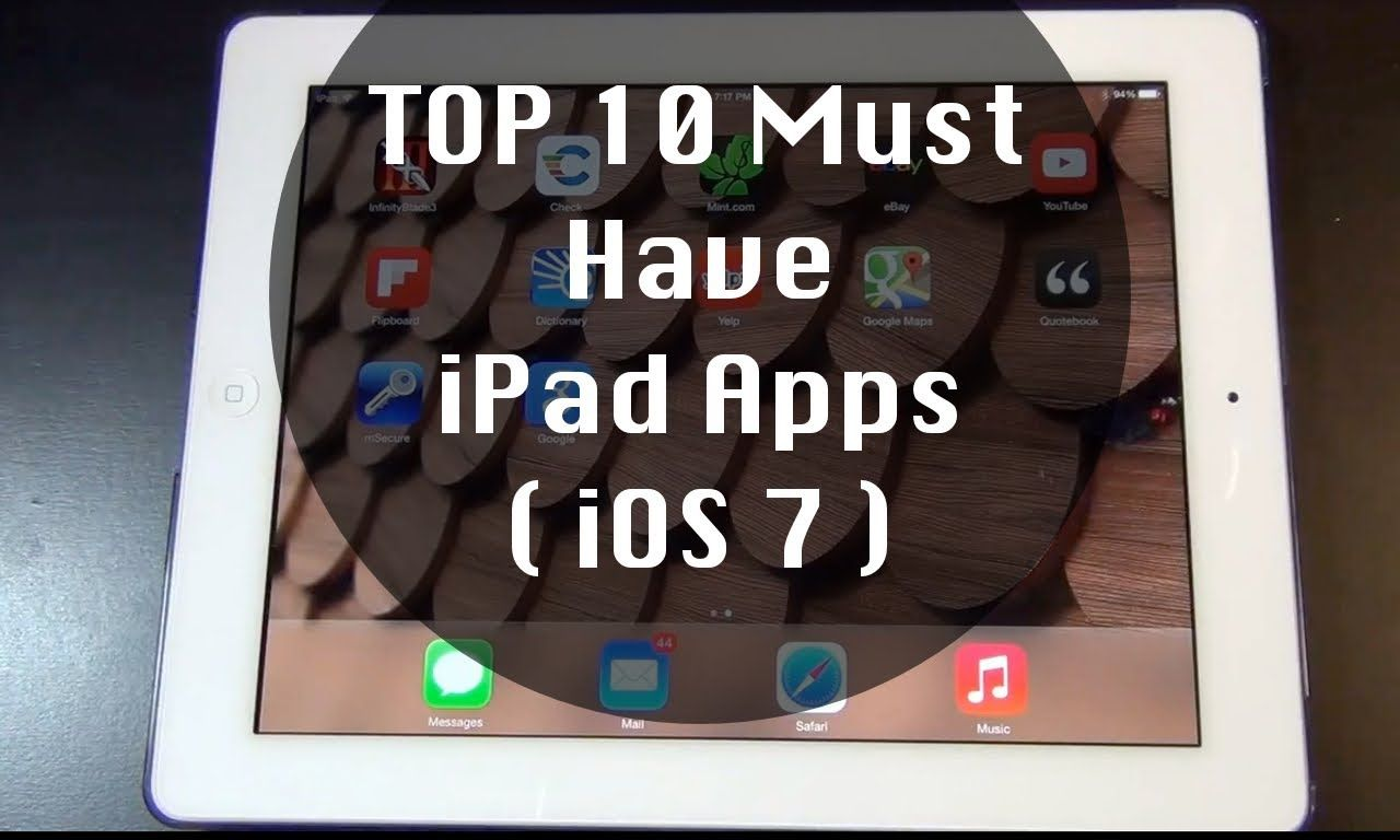 Top 10 Must Have iPad Apps 2014 (With images) Ipad apps