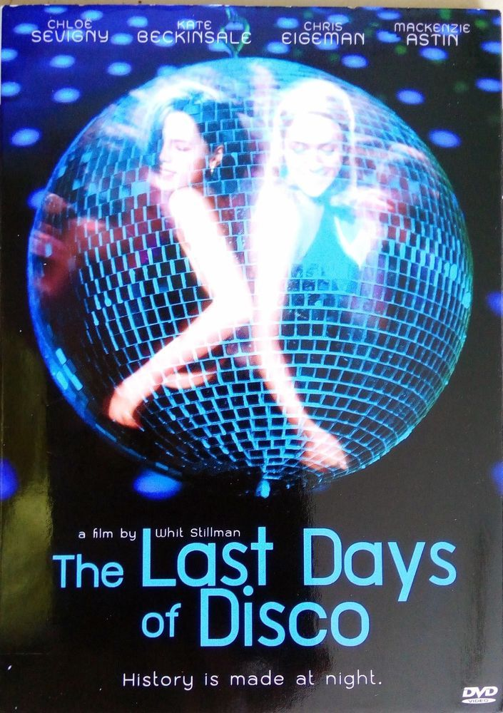 The Last Days Of Disco Dvd Pal Color Chloe Sevigny Kate Bekinsdale Disco Last Day Film Movie