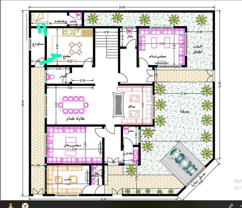 مخططات فلل Al1000a تويتر Family House Plans Home Map Design Model House Plan