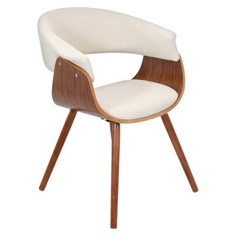 Attrayant Vintage Mod Dining Chair Wood/Beige   LumiSource