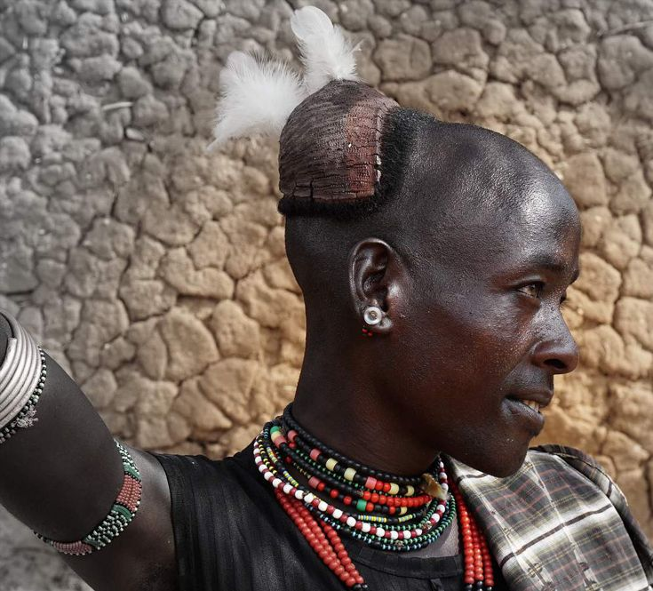 Africa Young Hamar Man Lower Omo Valley Southern Ethiopia - Ethiopian hipster hairstyle
