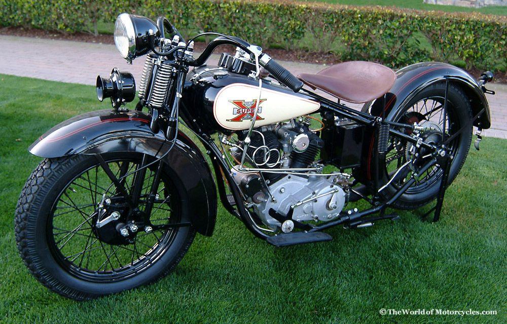 1925 Excelsior Super X Vintage Motorcycle Vintage Motorcycle Photos Motorcycle Classic Motorcycles