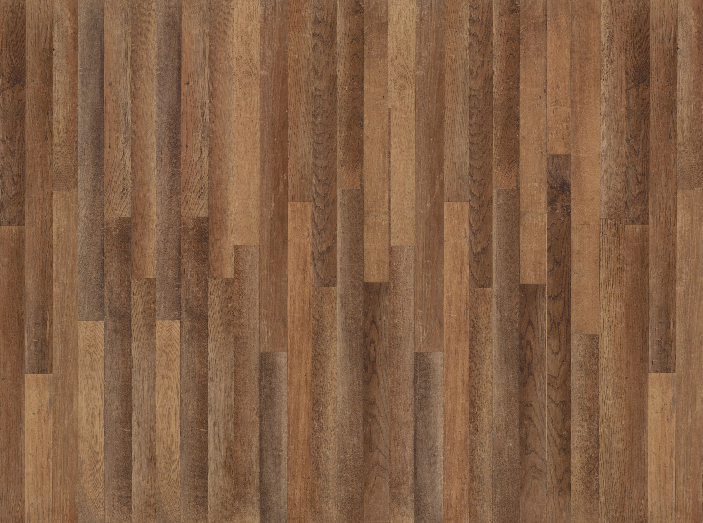 Bamboo Hardwood Flooring Glossy Brown Linoleum Hard Wood