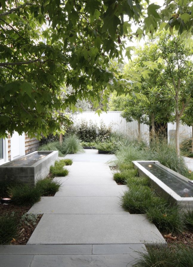 Image Via Gardenista Designer Mark Tessier Landscape Architecture Photographer Art Gray