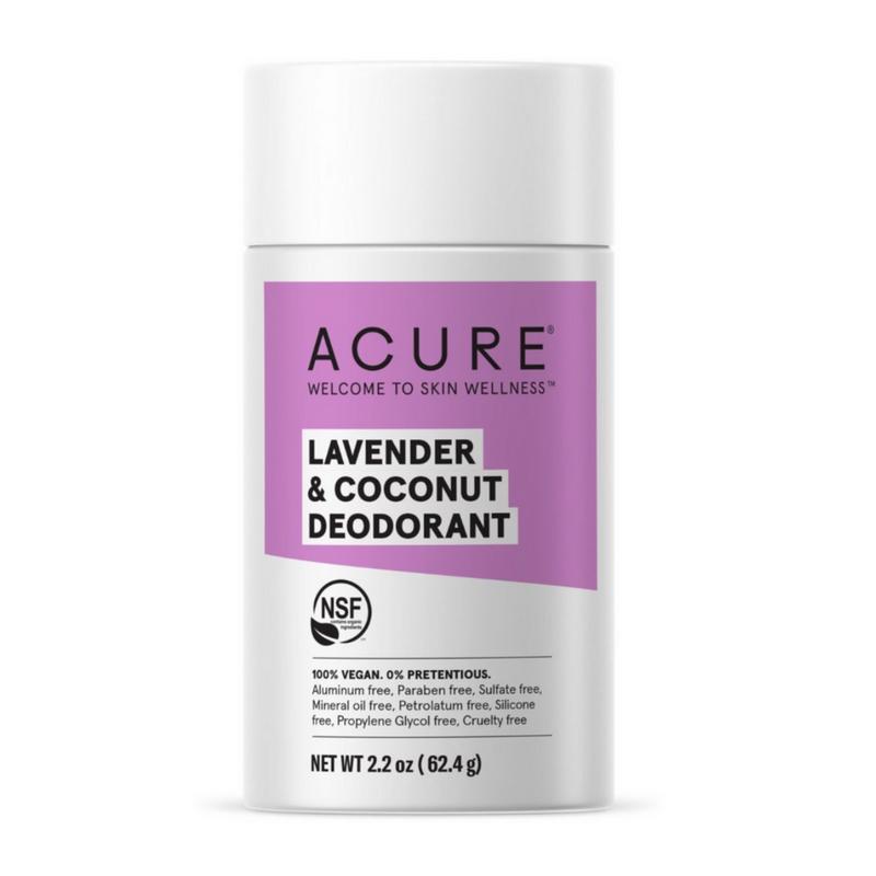 Acure Lavender & Coconut Natural Deodorant Stick