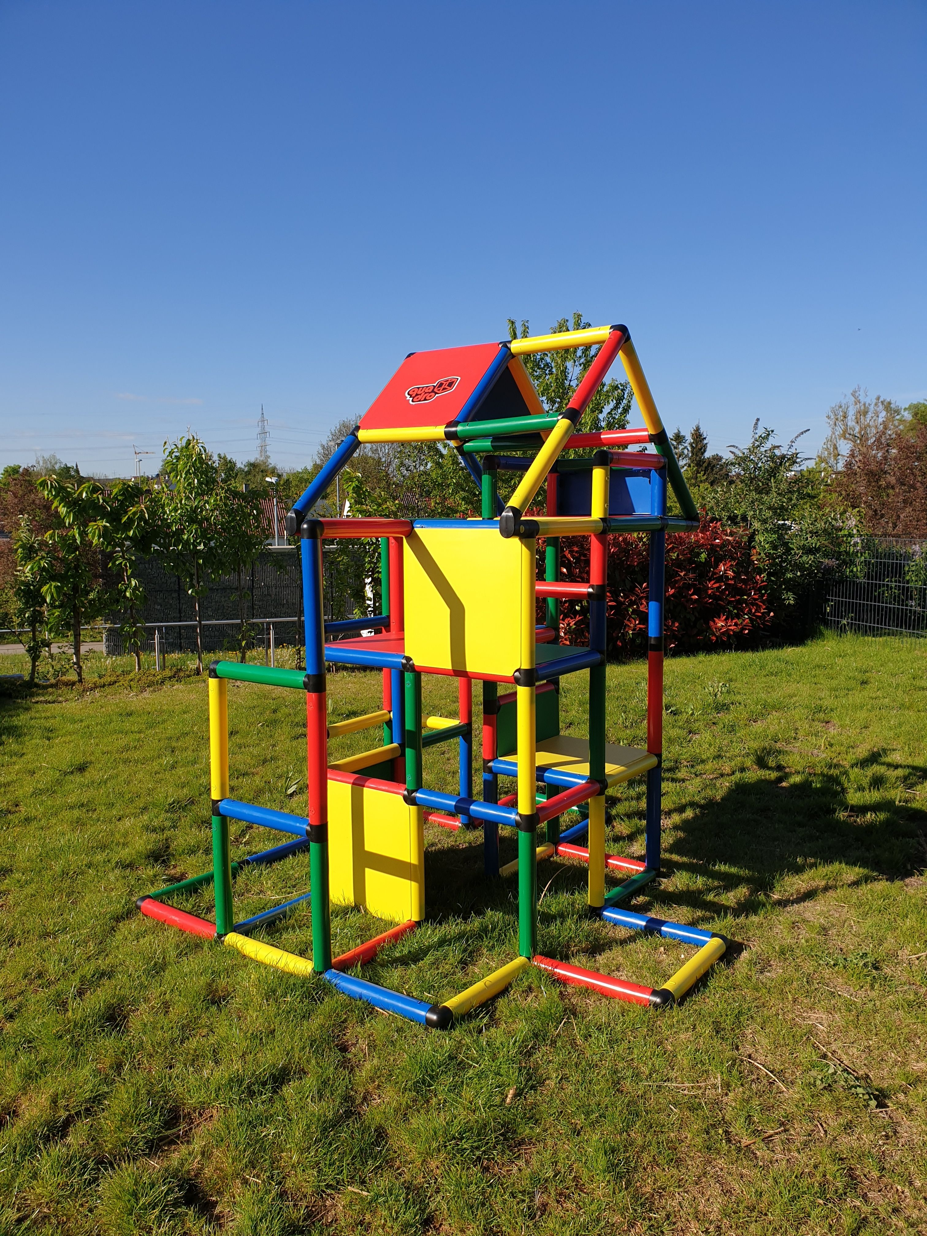 Quadro Spielturm Spielturm Turm Quadro Klettergerust