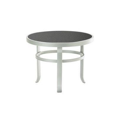 Tropitone Raduno Round Coffee Table Base Finish Graphite Top