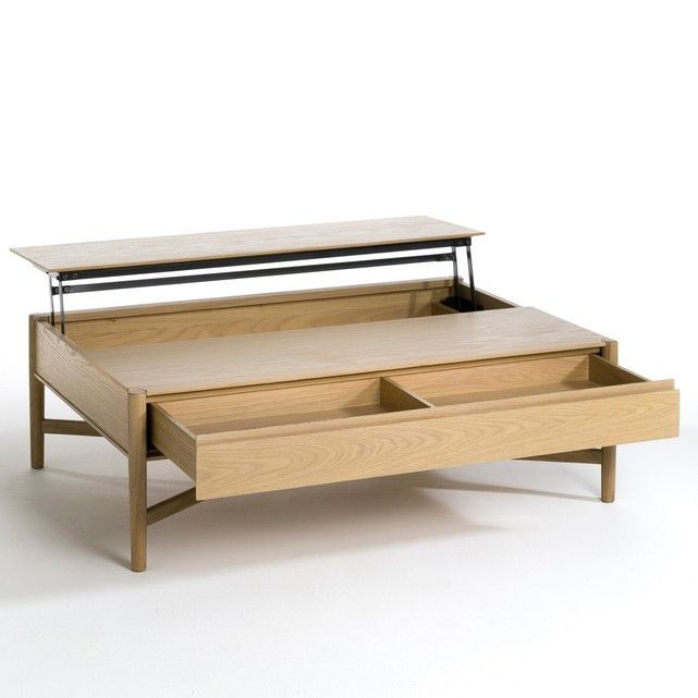 Irma Coffee Table This Coffee Table Is Decorative And Functional All In One A Great Space Saving Solut Oak Coffee Table Coffee Table Center Table Living Room