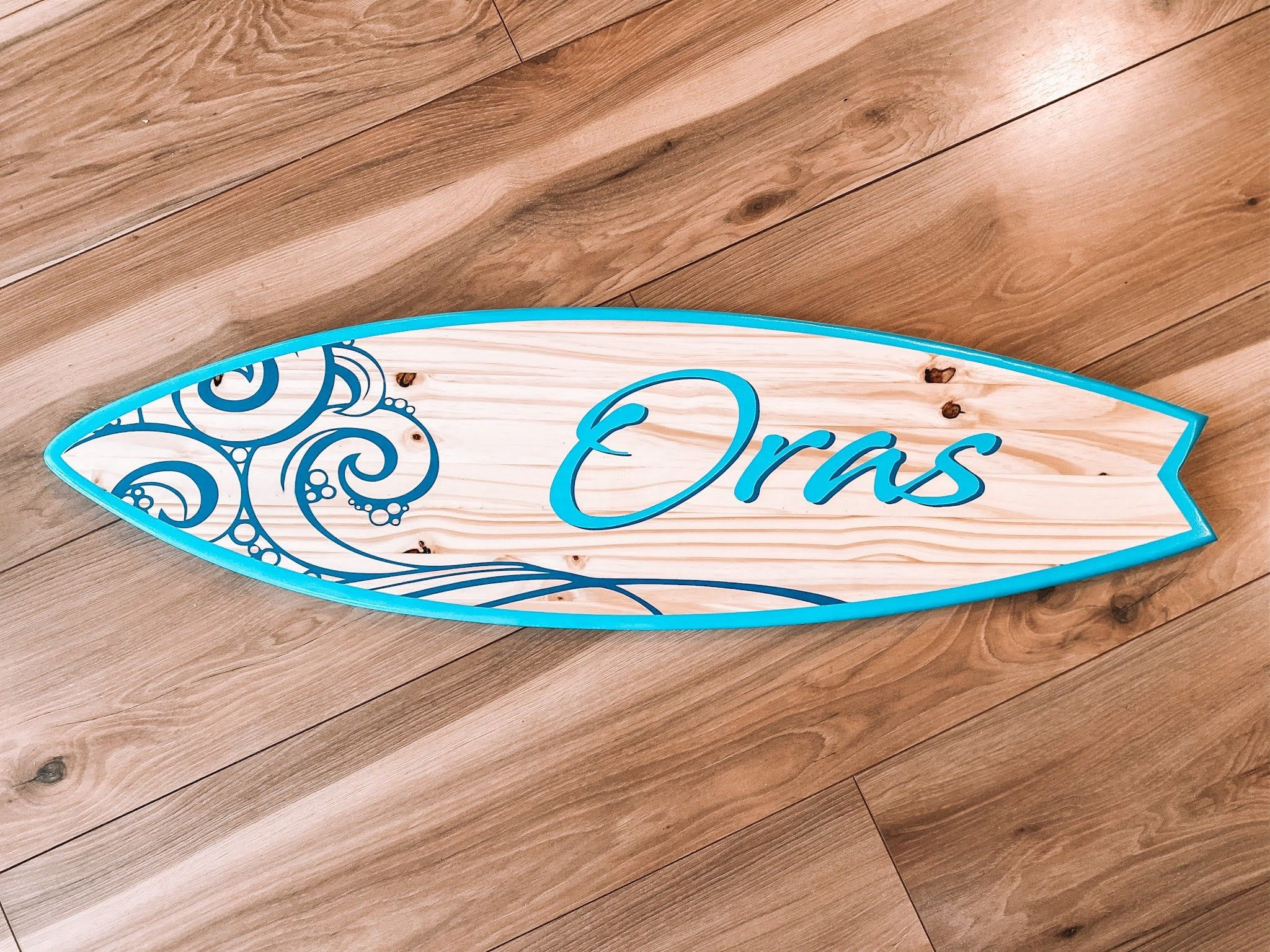Personalized Surfboard Wall Art Surf Decor Surfboard Sign Surfboard Wall Art Surf Art Personalized Name Surfboard Signs In 2021 Surfboard Wall Art Surfboard Wall Surf Decor
