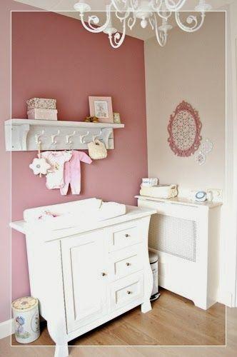 oud roze verf  Google zoeken  Kindjes  Babykamer pastel