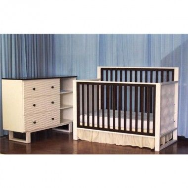 Delicieux Eden Baby Furniture Moderno 4 In 1 Convertible Crib Nursery Set   90310 /