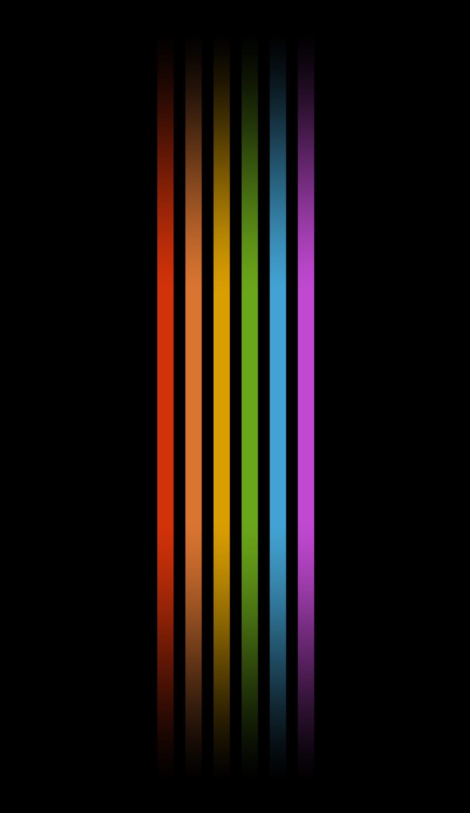 Pin By Hannah Marcello On R A I Nb O W S Rainbow Wallpaper Pride Colors Black Iphone Background