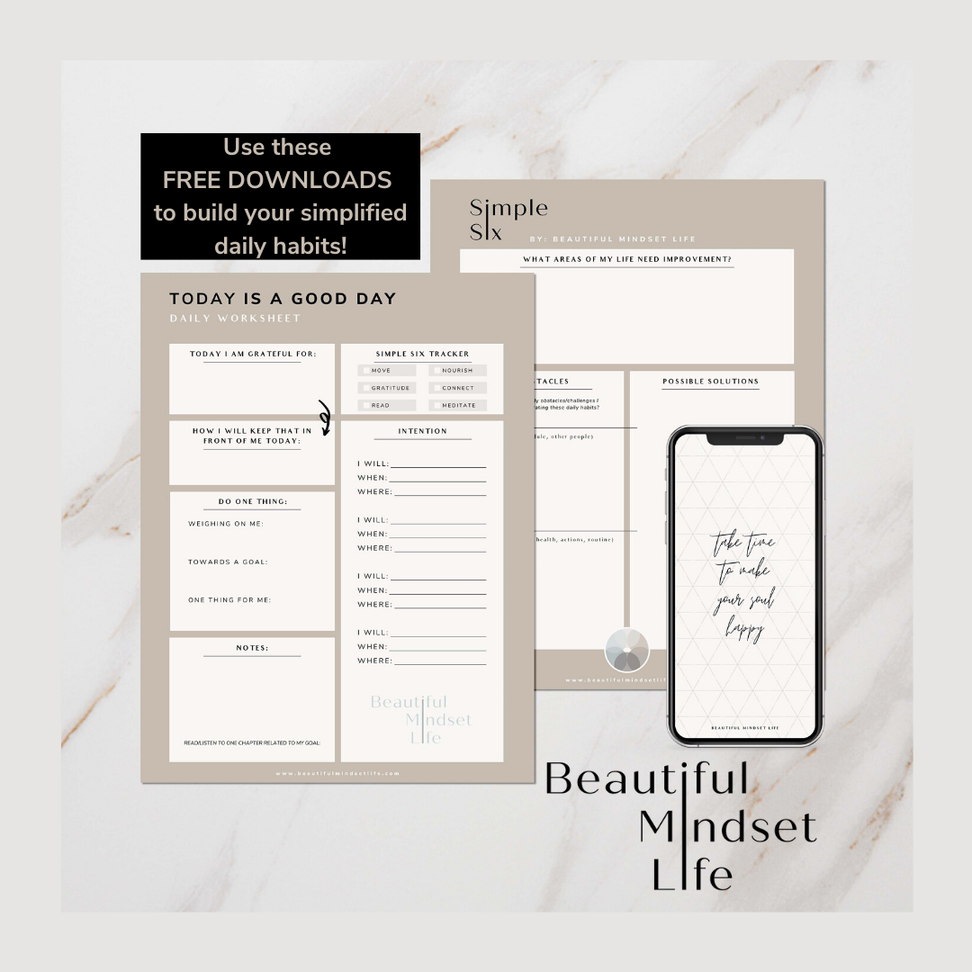 Journey To Wellbeing Inside Amp Out Daily Planner