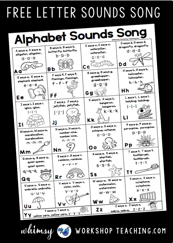 Tips For Teaching Letter Sounds Whimsy Workshop Teaching Teaching Letter Sounds Teaching Letters Teaching Phonics