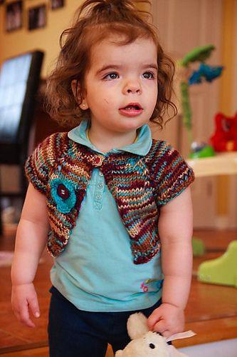 Ravelry: rejoice ('shrug this' for little girls) pattern ...