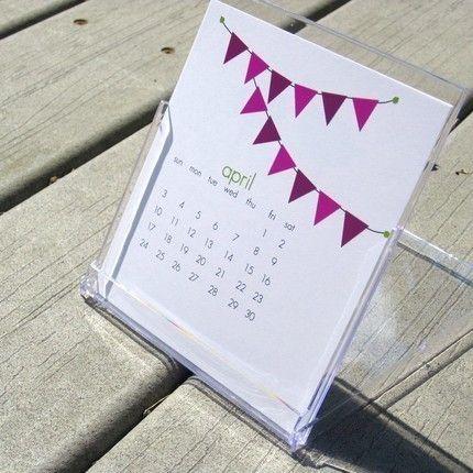 Printable Calendar That Fits Into A Cd Case Print Pinterest